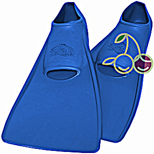 SwimSafe оригинал Ласты детские каучуковые для бассейна размер 30-33 синие СВИМСЕЙФ – Германия